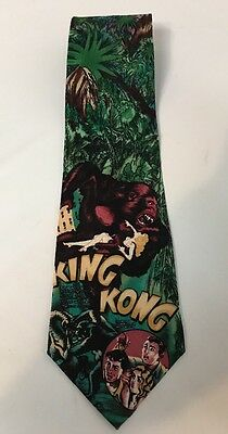 American Film Classics KING KONG Vintage 1992 Tie Adventure Action Movie EUC