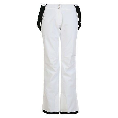 Dare 2B Stand For Ladies Ski Pants Snowboarding White Salopettes Slim Leg