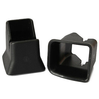 2x Car Seat Child Safety Seat Buckle Fixed Guide ISOFIX Car Buckle Black