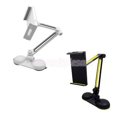 360 Support Desk Rotation Stand avec double Coupe de base d'aspiration Long