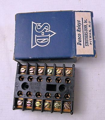 Dunco Relay Socket 27390, Struthers -Dunn, Inc, New in Box