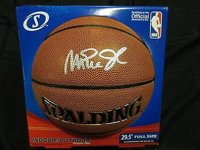 Psa/dna Magic Johnson Autographed Signed Spalding Basketball Mint In Box