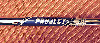 Rifle Project X Flighted Shafts Bundle