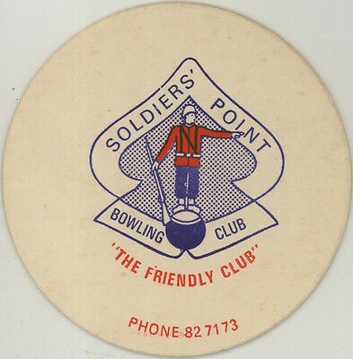 Coaster: Soldiers' Point Bowling Club