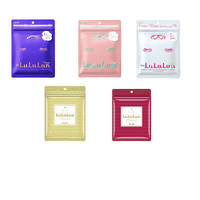 NEW LuLuLun Face Mask Made in Japan Free Shipping Beauty  Balanced Moisturize