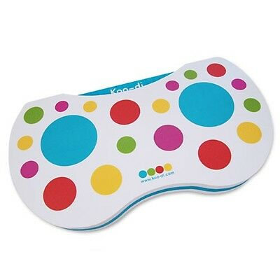 KooDi Baby Bath Time Quick Drying Coloured Dots Kneeling Mat For Parents