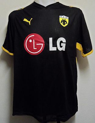 Aek Athens 2008/09 S/s Home Shirt By Puma Adults Size Large Brand New With Tags
