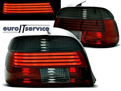 New Top Set Tail Lights Ldbm66 Bmw E39 2000-2003 Red Smoke Led