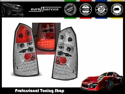 New Top Set Tail Lights Ldfo01 Ford Focus Mk1 1998-2004 Chrome Led