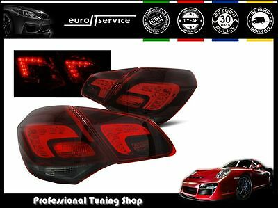 New Top Set Tail Lights Ldop45 Opel Astra J 2010- Red Smoke Led