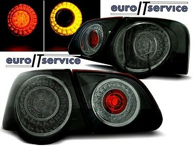 New Top Set Tail Lights Ldvw74 Vw Passat B6 3C 2005-2010 Smoke Led