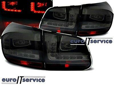 New Top Set Tail Lights Ldvwd4 Vw Tiguan 2011- Smoke Led