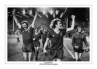 1979 League Champions Liverpool F.c.  Photo A4 Photo Print First Division