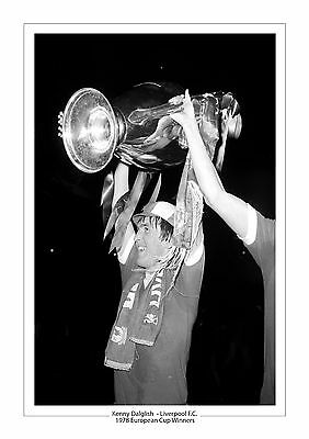 Kenny Dalglish Liverpool F.c 1978 European Cup A4 Photo Print 2