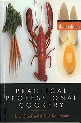 Practical Professional Cookery by Cracknell, H. Paperback Book The Cheap Fast
