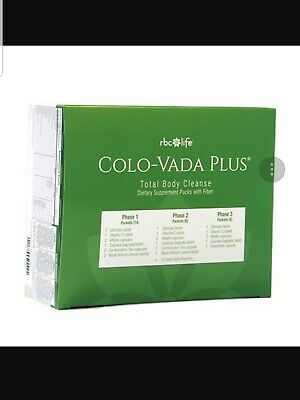 NEW IMPROVED!! Colo Vada Plus - Weight Loss, Detox, Full Body Cleansing RBC Life