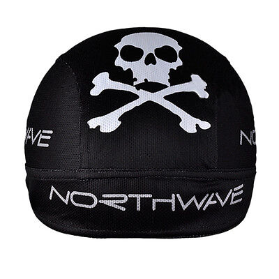 New Black Cycling Bicycle Bike Outdoor Sports Bandana Pirate Hat Cap CT