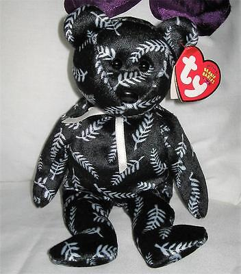 SILVER-the-New-Zealand/Bear/Asia-Pacific exclusive - by TY Beanie Babies - Mint
