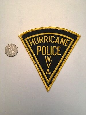 Hurricane West Virginia Police Department Patch Wv