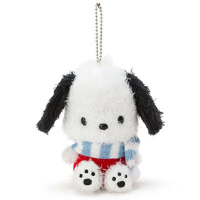Pochacco mascot holder (muffler) Sanrio Kawaii Cute F/S NEW