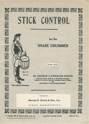 George Lawrence Stone: Stick Control For The Snare Drummer. Drums Sheet Music