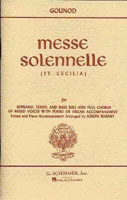 Charles Gounod: Messe Solennelle (St. Cecilia) (Vocal Sco.... Choral Sheet Music