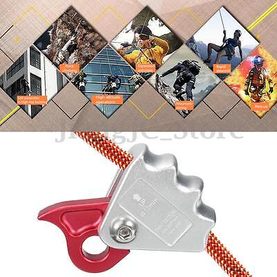 15KN Outdoor Rock Climbing Rope-Grab Downhill Fall Protector For 12mm Rope AU