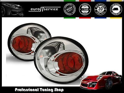 New Top Set Tail Lights Ltvw86 Vw New Beetle 1998-2005 Chrome