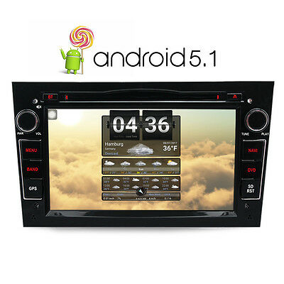 Android 5.1.1 GPS for Vauxhall Opel Astra Vectra Corsa DVD Player GPS/DAB+/Wifi