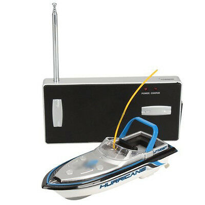 11Q4 Blue Mini 3352 Radio Remote Control RC Speed Racing Boat Toy Gift