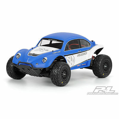 Proline VW Full Fender Baja Bug Unpainted Body for Slash - PL3238-63