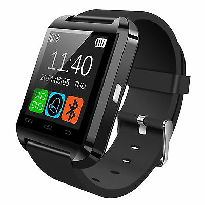 BLUETOOTH SMART WRIST WATCH PHONE MATE FOR ANDROID & iOS – IPHONE SAMSUNG HTC