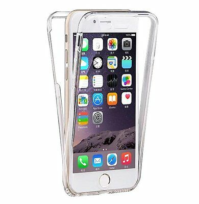 Pour Apple iphone 5/6/7/8/X Coque Gel Protection INTEGRAL Transparent INVISIBLE