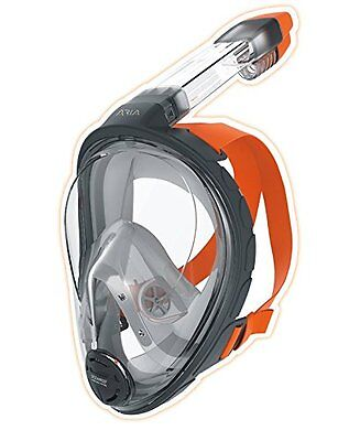 Ocean Reef Aria Full Face Snorkeling Mask Anti-fog Snorkel Large