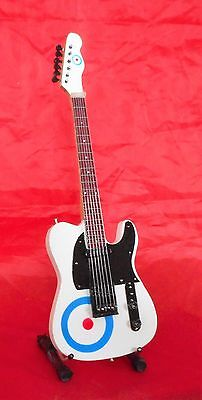 The Who Miniature Tribute Guitar (UK SELLER) Mod/Scooters