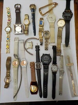 Assorted Ladies Watches (Brands include: Guess, Fossil, La Montre, and Invicta)