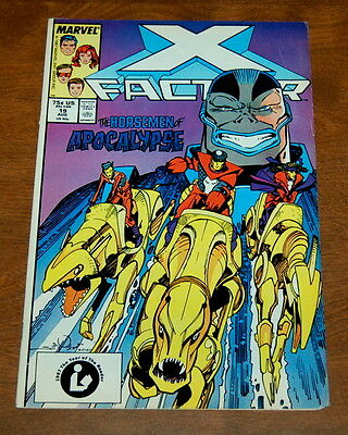 X-Factor #19 FN-  1ST 4 HORSEMAN of the Apocalypse Marvel Comics