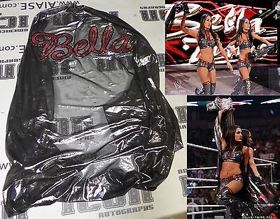 Nikki The Bella Twins Signed WWE 2011 PPV Ring Worn Used Cape PSA/DNA Total Diva
