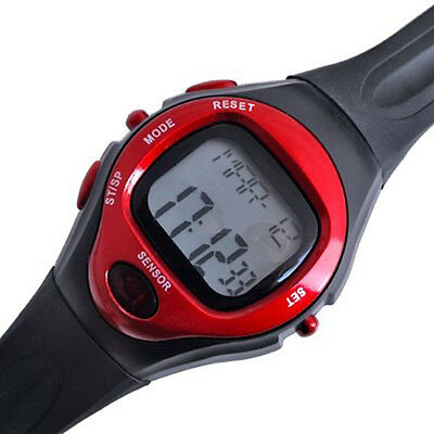 11Q4 Sport Stop Watch Calorie Counter Heart Rate Monitor New