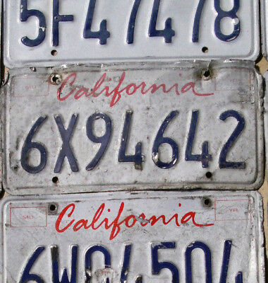 California License Plate - UGLY California Truck License Plate