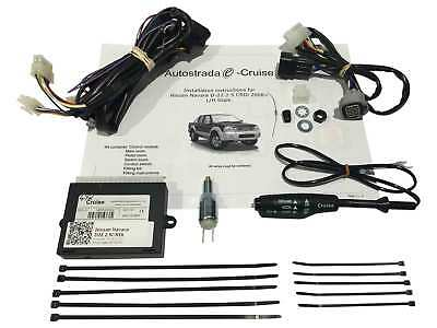 Cruise Control Kit Plug & Play for Nissan Navara D22 2.5L Turbo Diesel 2006 on