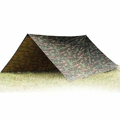 Aqua Quest Defender Tarp - 100% Waterproof  4 x 3 m / 13 x 10 ft Large - Camo