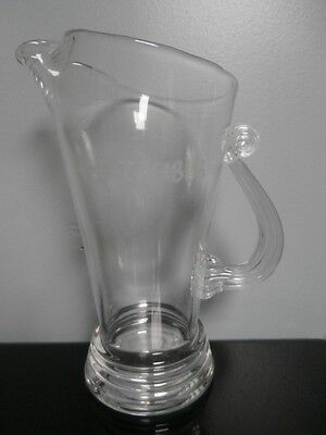 Excalibur Hotel and Casino Glass Pitcher