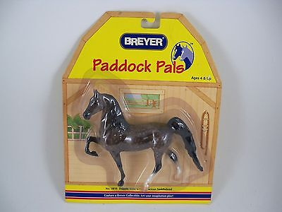 Breyer Horse Paddock Pals 1616 Dapple Rose Grey American Saddle-bred NEW Retired