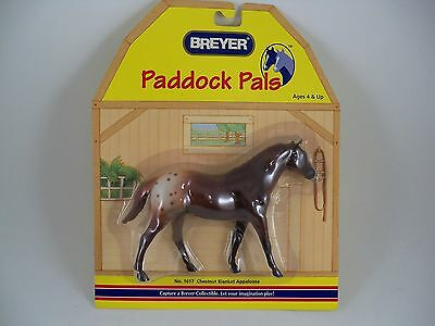 Breyer Horse Paddock Pals 1617 Chestnut Blanket Appaloosa NEW Retired