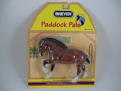 Breyer Horse Paddock Pals 720020 Clydesdale Blood Bay NEW Retired