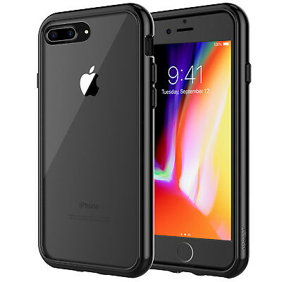 JETech®  For iPhone 6 6s 7 Plus Case Shockproof Clear Back Bumper iPhone Cover