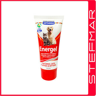 Vetsense Energel 200g for Dogs and Cats - Vitamin & Mineral Supplement