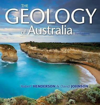 NEW The Geology of Australia By David Johnson Paperback Free Shipping