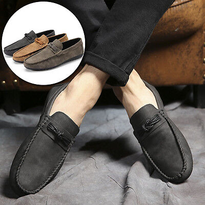 Men Casual Slip-On Flats Loafers Breathable Low Top Comfortable Fashion New